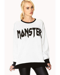 Forever 21 Monster Sweatshirt