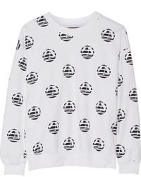 Petit Bateau Printed Cotton Sweatshirt