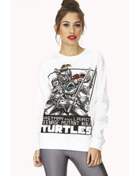 Forever 21 Tmnt Comic Sweatshirt