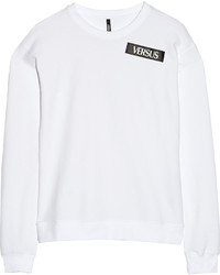 Versus Versace Cotton Blend Sweatshirt