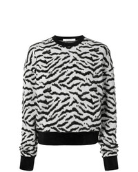 Givenchy Zebra Print Sweater