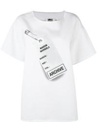MM6 MAISON MARGIELA Archive Print Oversized T Shirt