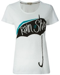 Brit rain or shine umbrella print t shirt medium 148577