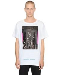 Off-White Caravaggio Printed Cotton Jersey T Shirt