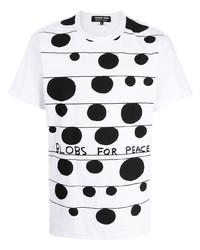 Comme des Garcons Homme Deux Comme Des Garons Homme Deux Dot Print Cotton T Shirt