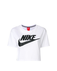 Nike Cropped Logo T Shirt