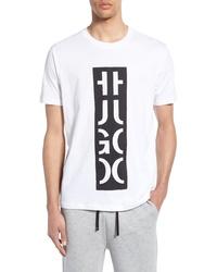 Hugo Darlon Logo Relaxed Fit T Shirt