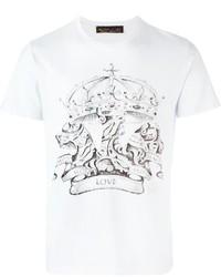 Etro Crown Print T Shirt