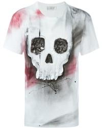 Faith Connexion Skull Print T Shirt