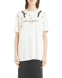 Givenchy Gemini Back Graphic Tee