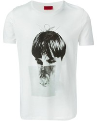 Hugo Boss Hugo Deer And Face Print T Shirt