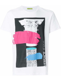Versace Jeans Printed Logo T Shirt