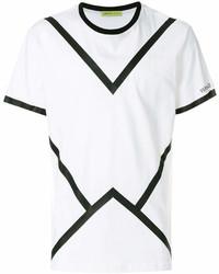 Versace Jeans V Print T Shirt