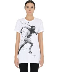 Limited printed cotton jersey t shirt medium 410499