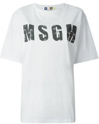 Logo print t shirt medium 148575
