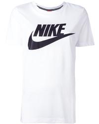 Nike Logo Print T Shirt