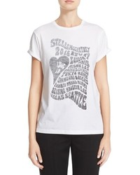 Stella McCartney Love In Print Cotton Tee