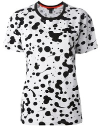 Marc by Marc Jacobs Oil Drop Print T Shirt