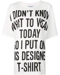 Moschino Graphic T Shirt