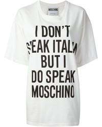Moschino Oversize Printed T Shirt