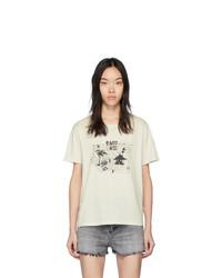 Saint Laurent Off White Necklace T Shirt