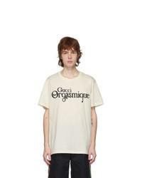 Gucci Off White Orgasmique T Shirt