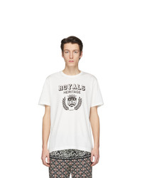 Dolce and Gabbana Off White Royals Heritage T Shirt
