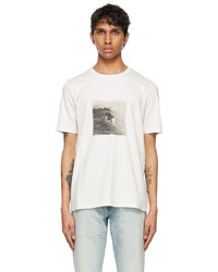 Saint Laurent Off White Surfer T Shirt
