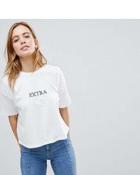 Asos Petite Petite T Shirt With Extra Print
