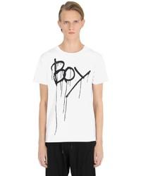 Printed drip parachute jersey t shirt medium 3669110