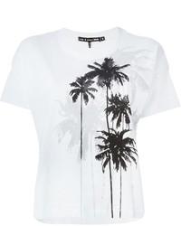 Rag and Bone Rag Bone Jean Palm Tree Print T Shirt