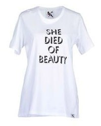 She Died Of Beauty Short Sleeve T Shirts
