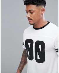 New Look Sport American Soccer T Shirt In White