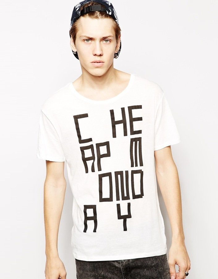 Cheap Monday T Shirt With Video Game Print | Where to buy & how to ...