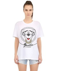 Tiger Printed Cotton T Shirt