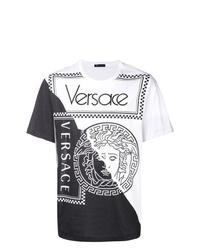 Versace Two Tone Medusa T Shirt