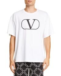 Valentino V Logo T Shirt