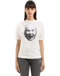 Vivienne Westwood Vivienne Printed Cotton T Shirt