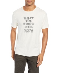 John Varvatos Star USA What The World Needs Now Graphic T Shirt