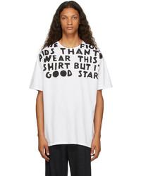 Maison Margiela White Aides France Edition Charity T Shirt