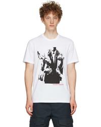 Alexander McQueen White Atelier Print T Shirt