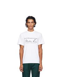 Martine Rose White Classic T Shirt
