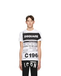 DSQUARED2 White Cool Fit T Shirt