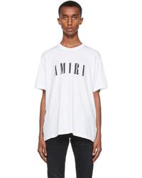 Amiri White Core Logo T Shirt