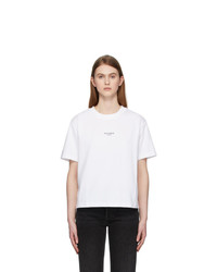 Acne Studios White Edie Stamp T Shirt