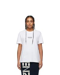 Kenzo White Essential Comfort T Shirt