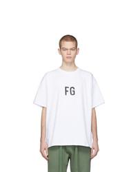Fear Of God White Fg T Shirt