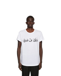 Ann Demeulemeester White God Of Wild Fine T Shirt