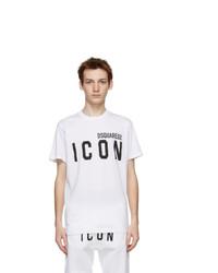 DSQUARED2 White Icon T Shirt