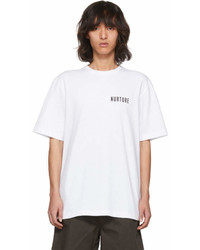 Acne Studios White Jaceye Nurture Print T Shirt